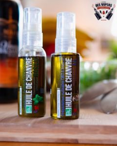 huile de cbd et huile de chanvre